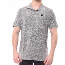 400695288bf Camisa Polo Oakley Estampa Logo Cinza Mescla