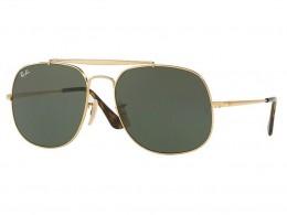 Óculos de Sol Ray-Ban General Armação Metal Dourado Lente Preta Comum Com  Plaquetas 0rb3561 76f0056bec