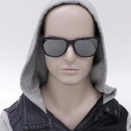 Óculos de Sol Armani Exchange Redondo Armação Acetato Preto Lente Preta  Espelhada Sem Plaquetas 0ax4047sl 80786g57 329dba531e