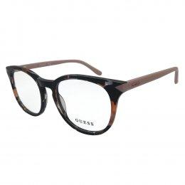 Óculos de Grau Guess Redondo Acetato Preta Aro Fechado Sem Plaquetas  gu2672 50055 fb5d23d10c