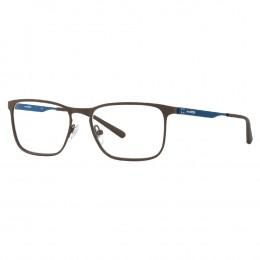 b4093a5971e7e Óculos de Grau Arnette Quadrado Metal Marrom Aro Fechado Com Plaquetas  0an6116 69953