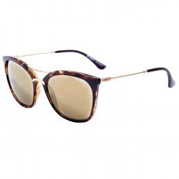 Óculos de Sol Vogue Quadrado Armação Acetato Tartaruga Lente Dourada  Espelhada Sem Plaquetas 0vo5157sl w6566g56 c51b853be7
