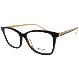 3efbf61ce923d Óculos de Grau Ana Hickmann Quadrado Acetato Bordô Aro Fechado Sem Plaquetas  LONDON II SHINY