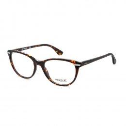 Óculos de Grau Vogue Gatinho Acetato Tartaruga Aro Fechado Sem Plaquetas  0vo2937 w656 53 d66d64dc9e