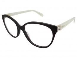 a3ab4463fc5c4 Óculos de Grau MAX Co. Gatinho Metal Preta Aro Fechado Sem Plaquetas  25957u5216