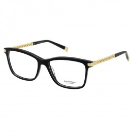 9ae32361f4212 Óculos de Grau Ana Hickmann Quadrado Acetato Preta Aro Fechado Sem Plaquetas  ah6319 a01