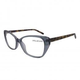 Óculos de Grau Spellbound Gatinho Acetato Azul Aro Fechado Sem Plaquetas sb  15268 5 2f28cc7bd6