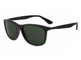 Óculos de Sol Ray-Ban Quadrado Armação Acetato Preta Lente Verde Comum Sem  Plaquetas 0rb4241l601s8757 286075db31