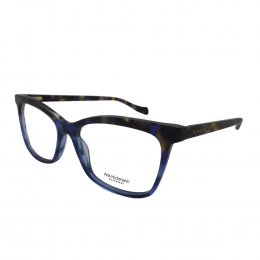 Óculos de Grau Ana Hickmann Quadrado Acetato Azul Aro Fechado Sem Plaquetas  ah6342 c03 69ed149b17