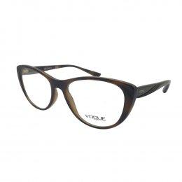 1a876604045f7 Óculos de Grau Vogue Gatinho Acetato Tartaruga Aro Fechado Sem Plaquetas  0vo5102 2386 53