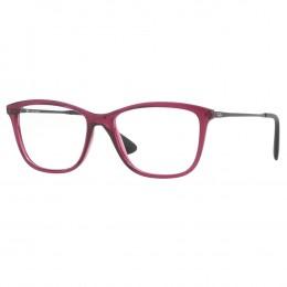Óculos de Grau Ray-Ban Gatinho Acetato Roxo Aro Fechado Sem Plaquetas  0rx7135l 5445 54 9189af0e23