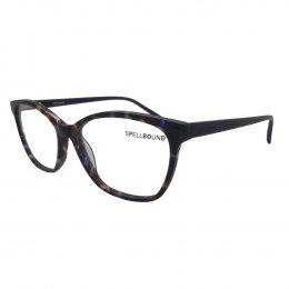 Óculos de Grau Spellbound Quadrado Acetato Tartaruga Aro Fechado Sem  Plaquetas sb 15718 3 3476dd7d4c
