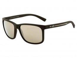 1d7eeff9a9fd7 Óculos de Sol Armani Exchange Wayfarer Armação Acetato Marrom Lente  Espelhada Sem Plaquetas 0ax4041sl 80625a58