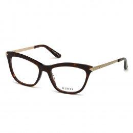 Óculos de Grau Guess Gatinho Acetato Tartaruga Aro Fechado Sem Plaquetas  gu2655 53052 f29bd602d3