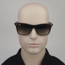 Óculos de Sol Ray-Ban Quadrado Armação Acetato Tartaruga Lente Marrom  Degradê Sem Plaquetas 0rb4440n 2d106dc598