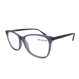 91250b2ec2fac Óculos de Grau Spellbound Redondo Acetato Azul Aro Fechado Sem Plaquetas sb  15952 2