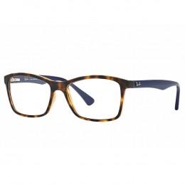 Óculos de Grau Ray-Ban Wayfarer Acetato Tartaruga Aro Fechado Sem Plaquetas  0rx7095l 565453 0229b2de71