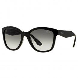 Óculos de Sol Vogue Quadrado Armação Acetato Preto Lente Preta Comum Sem  Plaquetas 0vo5019sl w44  f0781ca8a4