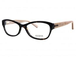 Óculos de Grau Guess Gatinho Acetato Tartaruga Aro Fechado Sem Plaquetas  gu2376 53020 c607a9786c