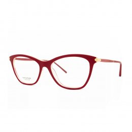 Óculos de Grau Ana Hickmann Gatinho Acetato Vermelha Aro Fechado Sem  Plaquetas ah6317 h04 9f0bf1ab46