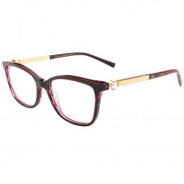 Óculos de Grau Ana Hickmann Gatinho Acetato Vermelha Aro Fechado Sem  Plaquetas PARIS II WINE e43b52055a