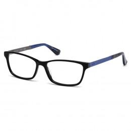 49c782ee8 Óculos de Grau Guess Quadrado Acetato Preta Aro Fechado Sem Plaquetas  gu2628 55001