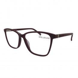 Óculos de Grau Spellbound Quadrado Acetato Vermelha Aro Fechado Sem  Plaquetas sb 16469 2 ef050937a7