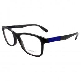 Óculos de Grau Jean Monnier Wayfarer Acetato Cinza Aro Fechado Sem Plaquetas  0j83161 e975 53 4c8722b883