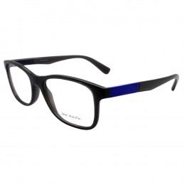 c89c2d435bb91 Óculos de Grau Jean Monnier Wayfarer Acetato Cinza Aro Fechado Sem Plaquetas  0j83161 e975 53