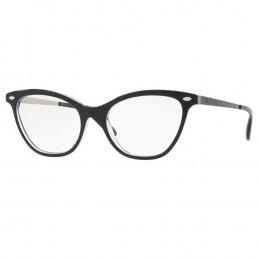 7b2634198cfd7 Óculos de Grau Ray-Ban Gatinho Acetato Preta Aro Fechado Sem Plaquetas  0rx5360 203454