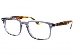 Óculos de Grau Ray-Ban Quadrado Acetato Cinza Aro Fechado Sem Plaquetas  0rx5353562952 2943f8b505