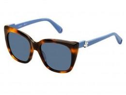 Óculos de Sol Max Co. Quadrado Armação Acetato Tartaruga Lente Azul Comum  Sem Plaquetas 293  cc266608cb