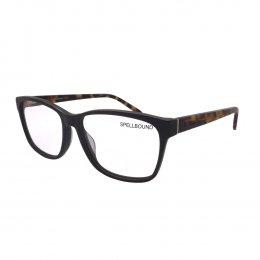 80f3285525488 Óculos de Grau Spellbound Quadrado Acetato Marrom Aro Fechado Sem Plaquetas  sb 15266 2