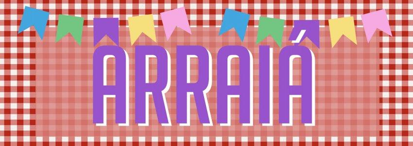 Banner ARRAIÁ
